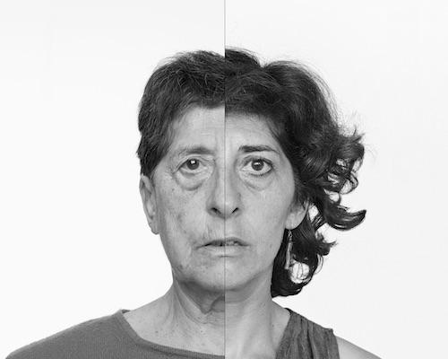 Autorretrato en el tiempo © Esther Ferrer