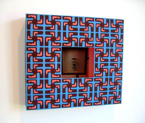 Boxed5/Inox valve. 2007. Papier imprimé, plié. 23,4 X 21 X 3,5 cm©Antoine Desjardins