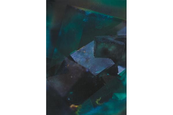 Calcite, Edouard Wolton, 2017 courtesy Galeries les Filles du Calvaire