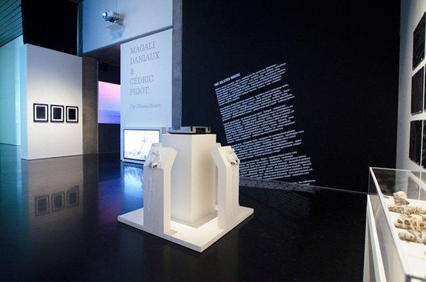 Vue d'ensemble de l'installation ©Magali Daniaux et Cédric Pigot