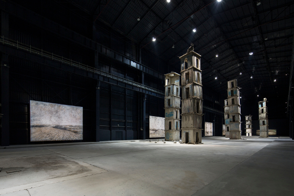 Anselm Kiefer The Seven Heavenly Palaces 2004-2015. Courtesy Pirelli HangarBicocca. Photo Agostino Osio