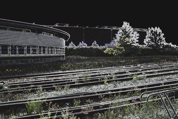 Les voies de nulle part, 2011©Andrée Philippot-Mathieu