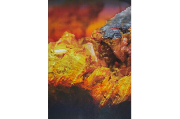 Orpiment, Edouard Wolton, 2017 courtesy Galeries les Filles du Calvaire