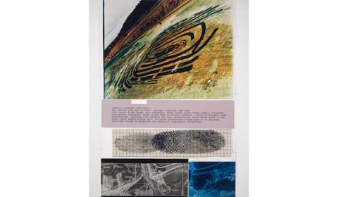 Dennis Oppenheim, Identity Stretch, des mondes dessinés | fracpicardie hauts-de-france