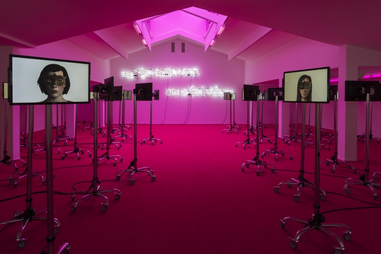 "!Mediengruppe Bitnik, ""Jusqu'ici tout va bien"", Centre culturel suisse, 2016 © Marc Domage"