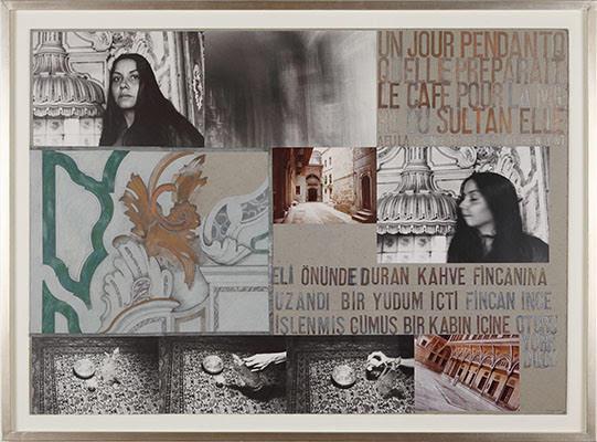 Le Harem, 19L79-1980 © Nil Yalter