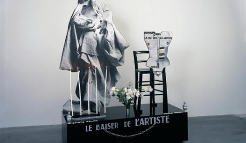Le Baiser de l'artiste, 1977 © ORLAN / ADAGP